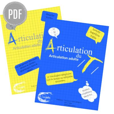 PDF — KIT - ARTICULATION /T/ + /D/