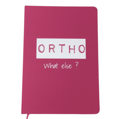 CARNET ROSE ORTHO