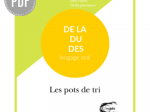 PDF — DU, DE LA, DES - POTS DE TRI