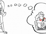 MUG humoristique / côté enfant - côté adulte