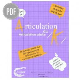 PDF — ARTICULATION /K/