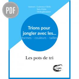 PDF — TRIONS POUR JONGLER AVEC LES FORMES — LES POTS DE TRI