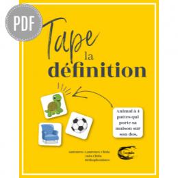 PDF — TAPE LA DÉFINITION