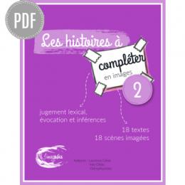 PDF — LES HISTOIRES A COMPLETER EN IMAGES 2