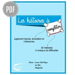 LES HISTOIRES A COMPLETER