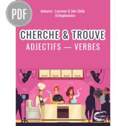 PDF — CHERCHE & TROUVE LES ADJECTIFS ET LES VERBES