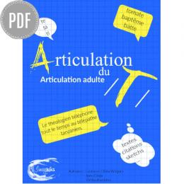 PDF — ARTICULATION DU /T/