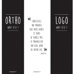 MARQUE-PAGE ORTHO/LOGO WHAT ELSE ?