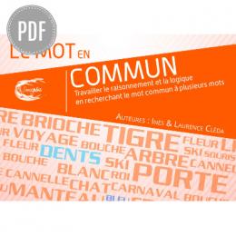 PDF — UN MOT EN COMMUN