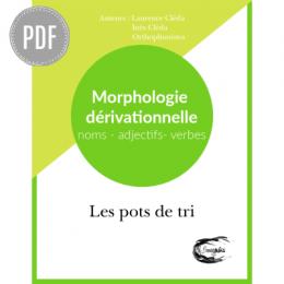 PDF — LES POTS DE TRI | MORPHOLOGIE DERIVATIONNELLE