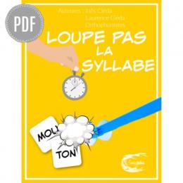 PDF - LOUPE PAS LA SYLLABE